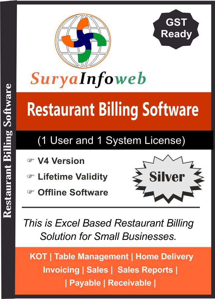 restaurant billing software restaurant software