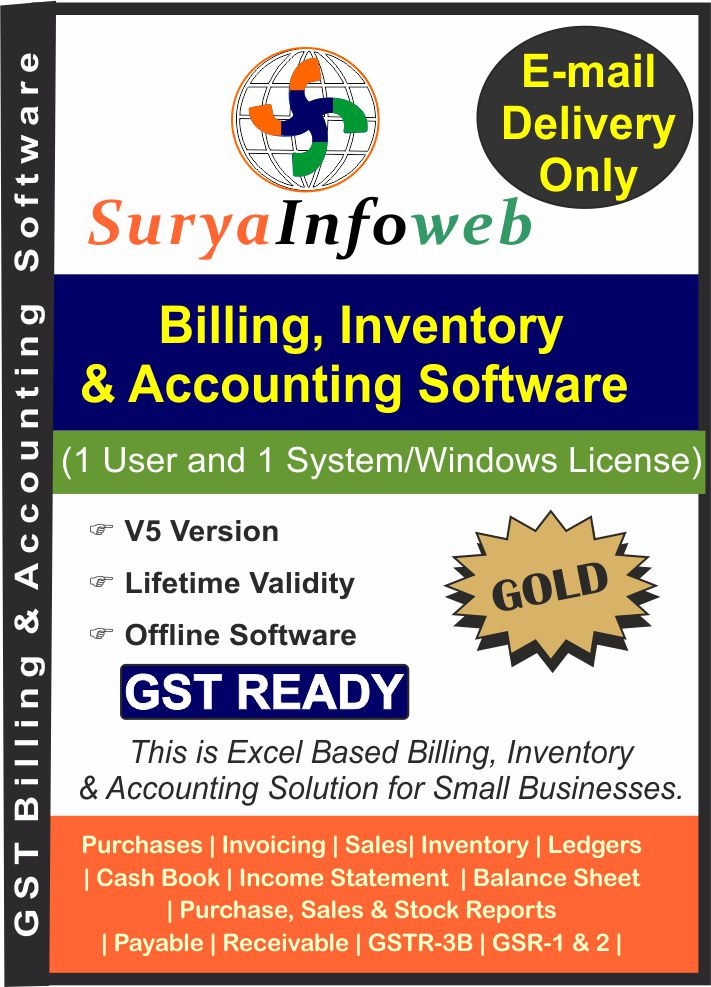 GST Accounting Software by SuryaInfoWeb