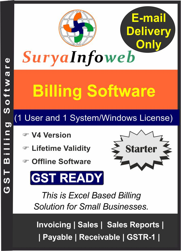 GST Billing Software SuryaInfoWebGST Inventory SoftwareAccounting - Invoice software full version