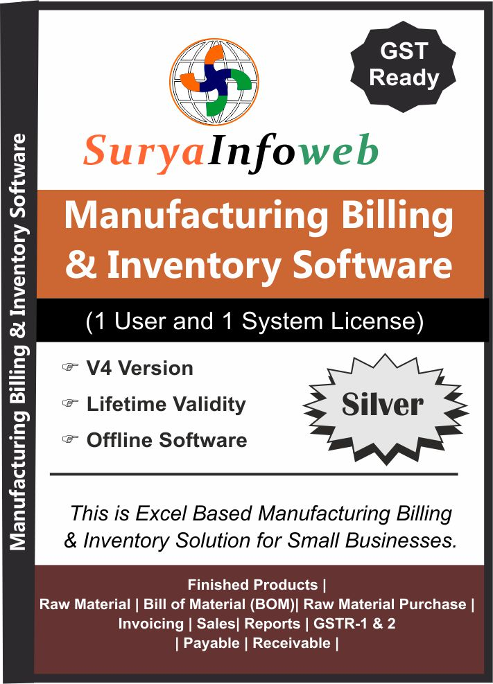 manufacturing billing software, billing software for manufacturing company