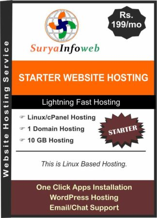 starter-website-hosting India