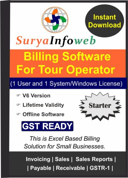 tour operator billing software