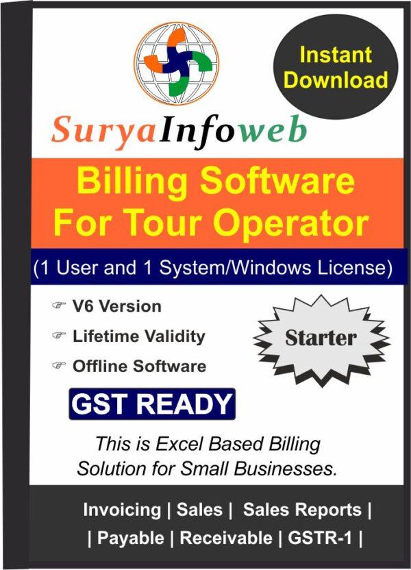 tour operator billing software