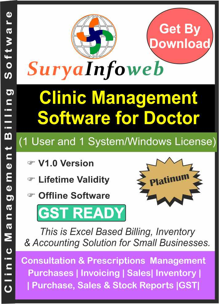 Clinic Management Software for Doctors