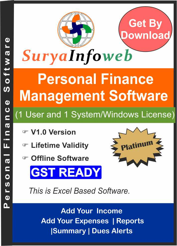 Personal Finance Management software
