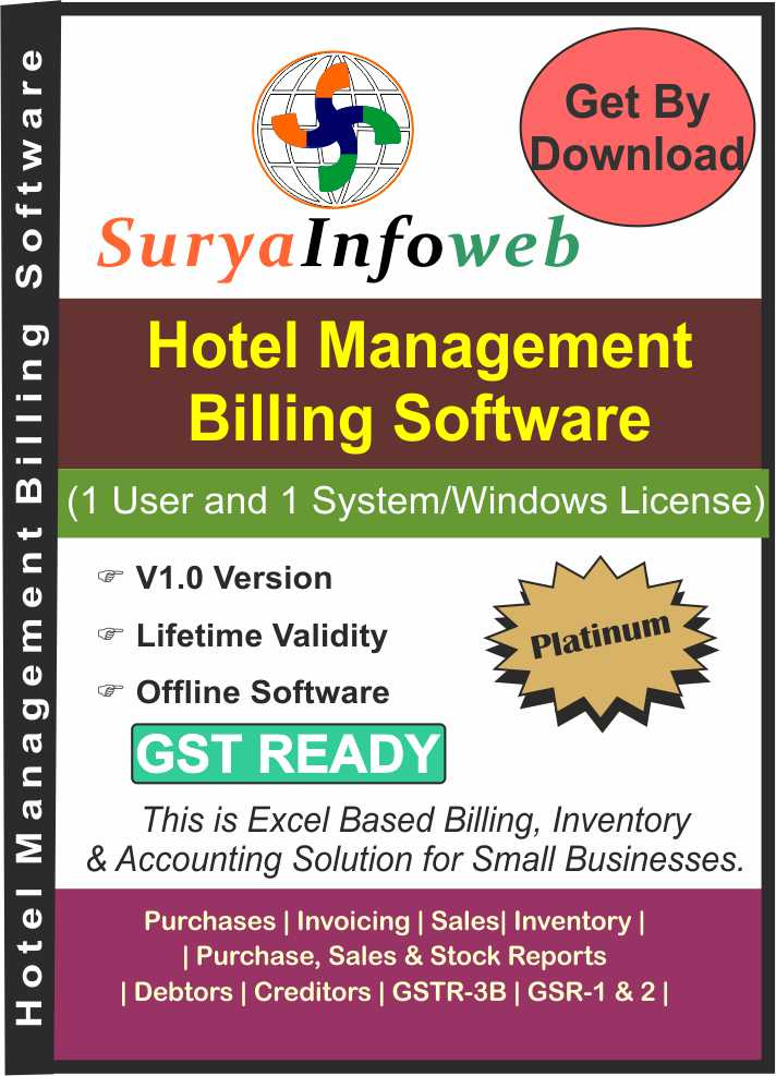 Hotel Management Billing Software