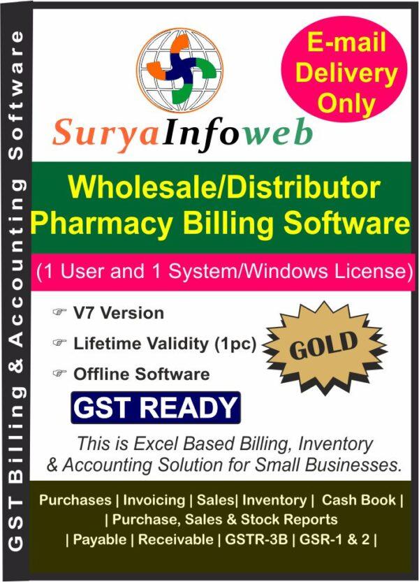 Wholesale Distributor Pharmacy Billing Software