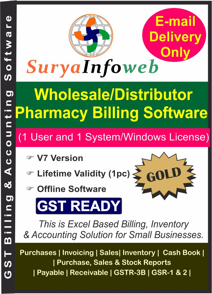 Wholesale Distributor Pharmacy Billing Software